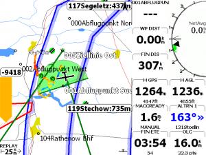 XCSoar Navigatie 1