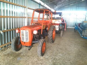 Tractorul de la XC Romania