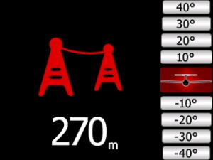 flarm display power line